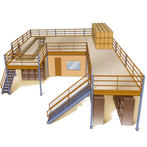 Office Mezzanine & Storage - About Time Solutions, Swindon